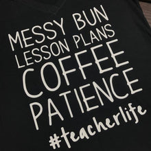 Messy Bun | Funny Teacher Shirt | Custom Teacher Shirt | Gifts For Teacher Shirt | Teacher Gift