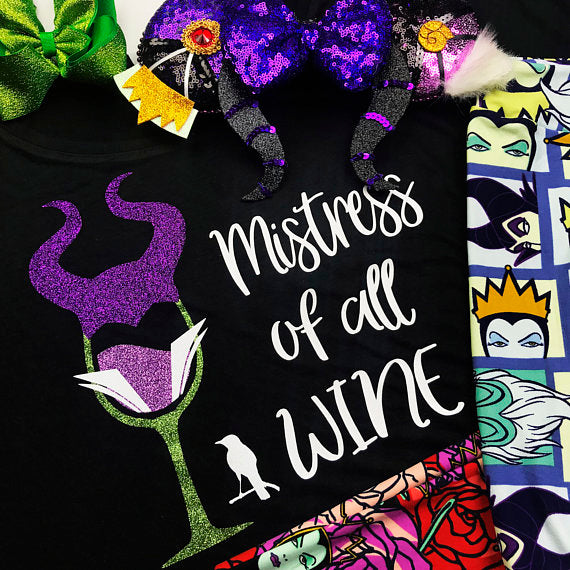 Mistress of All Wine, Food And Wine Shirt, Epcot Food and Wine Shirts, Drinking Shirts