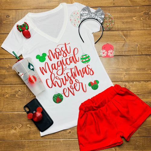 Kids Most Magical Christmas Ever Christmas Disney Shirt