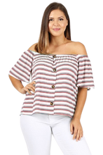 Susie Off Shoulder Blouse