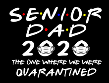 MOM DAD SENIOR FRIENDS SHIRT