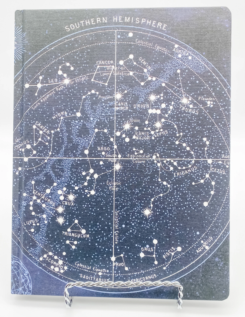 CONSTELLATIONS HARDCOVER DOT GRID JOURNAL