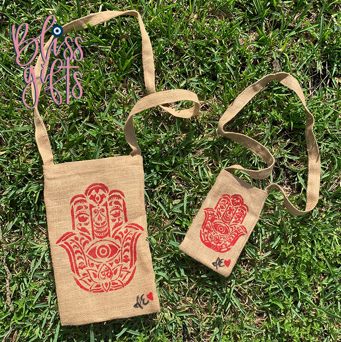 Hamsa Cross Body Bag