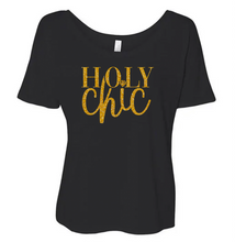 Holy Chic No Flake Glitter Top