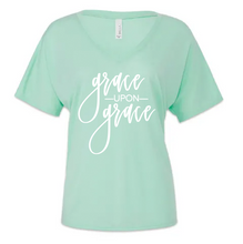 Grace Upon Grace Mint Green Shirts