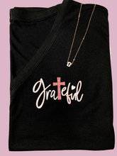 Grateful Heart Rose Gold Shirt