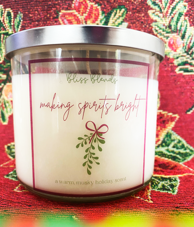 Making Spirits Bright 16 OZ CANDLE