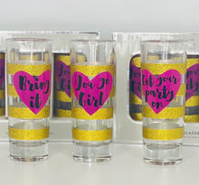 Party Girl Shot Glass Set