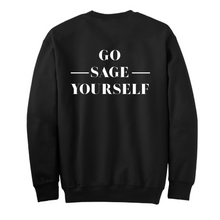 Go Sage Yourself Black Pull Over Sweater