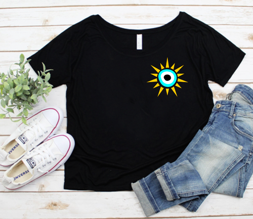 Evil Eye Sun Shirt - FREE Gift With Purchase Deal