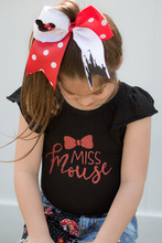Minnie Castle Cheer Bow Red
