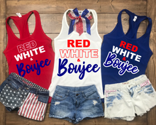 4th of July Shirt Woman & Girls | Red Wine & Blue | Red White Boujee