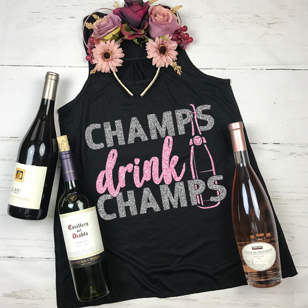 Champs Drink Champs Epcot food and Wine Shirt Disney Drinking