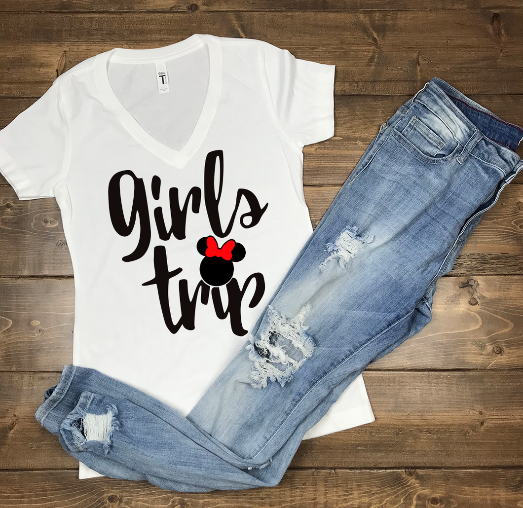 Girls Trip Disney Shirt Bachelorette Mommy and Me