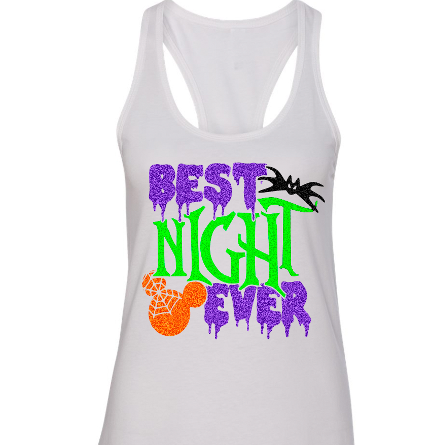 Best Night Ever, Halloween Disney Tshirt, Halloween Shirt, Disney Shirt, Mickey Halloween, Minnie Halloween, Family Vacation, Sugar Skull, Plus Size, Curvy