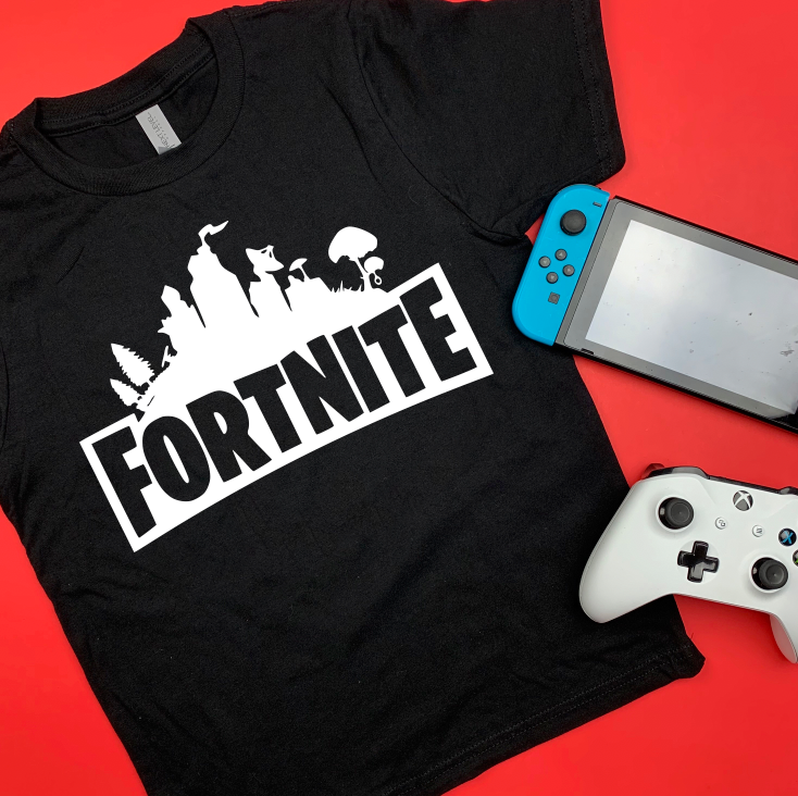 FORTNITE FORT NIGHT GAMING SHIRT