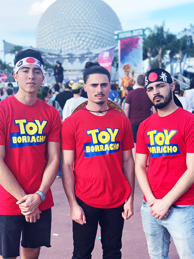 TOY Borracho Tipsy Story Food And Wine Toy Story Shirt