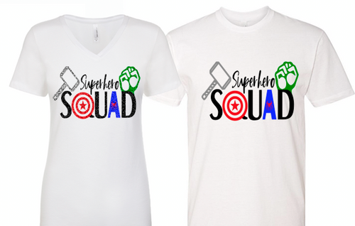 Superhero Squad SVG