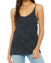 Thor Glitter Epcot Food and Wine Slouchy Tank in Acid Wash
