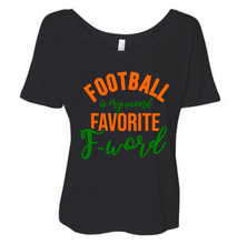 Football is My Second Favorite F-Word Shirt