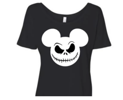 Jack Skellington Mickey  NIGHTMARE BEFORE CHRISTMAS - ADULT