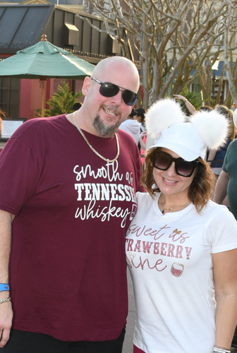 Couples Food and Wine Shirt - Tennessee Strawberry