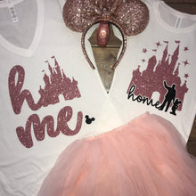 Disney Home Shirts, Disney Shirt for women, Disney Shirt for girls, Home Castle