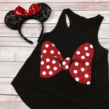 Glitter Bow Mouse Shirt