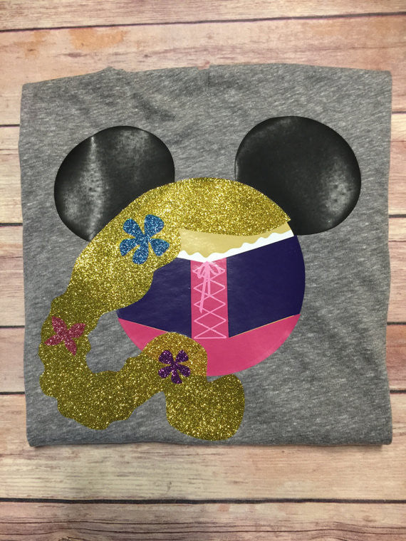 Rapunzel Minnie Shirt