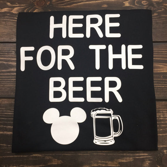 Here For The Beer Epcot Food & Wine Shirt