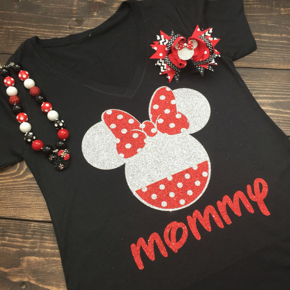 Polka Dot Minnie Shirt