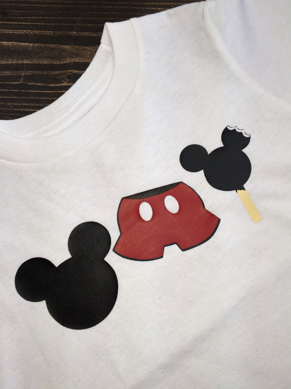 Mickey Ice Cream Epcot Food & Wine Shirt
