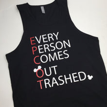 Every Person Comes Out Trashed Epcot Food & Wine Shirt