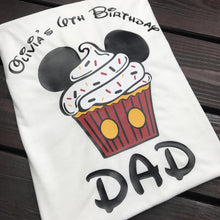 Mickey Mouse Cupcake Shirt
