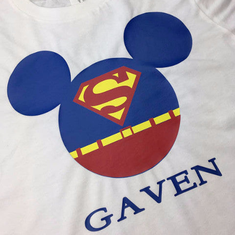 Super Man Mickey Shirt