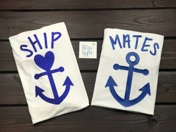 Couples Cruise Shirts | Matching Cruise Shirts | Couple Vacation Shirts | Vacation Shirt | Boat Shirt | Anchor Shirt | Nautical Shirts