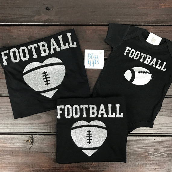 Football Heart Shirt