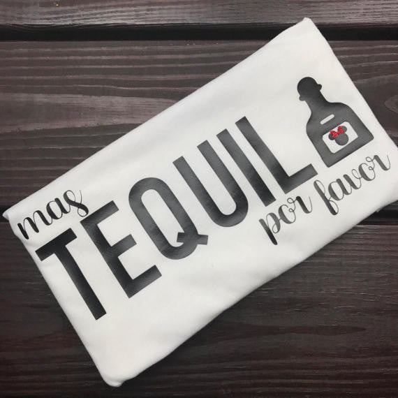 Mas Tequila Por Favor Epcot Food and Wine Shirt