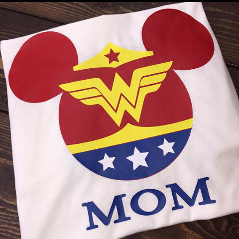 Wonder Woman Minnie Shirt