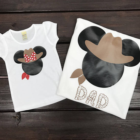 Cowgirl Minnie Shirt