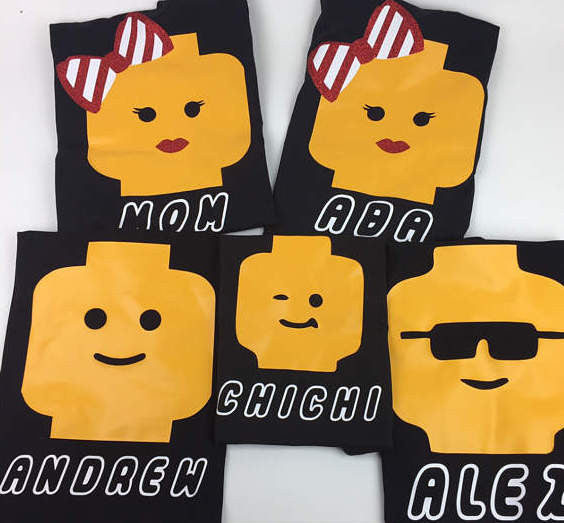 Lego Shirt - Glasses