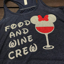 Food And Wine Crew, Epcot Food And Wine, EPCOT, Disney Drinking, Matching Drinking Shirt