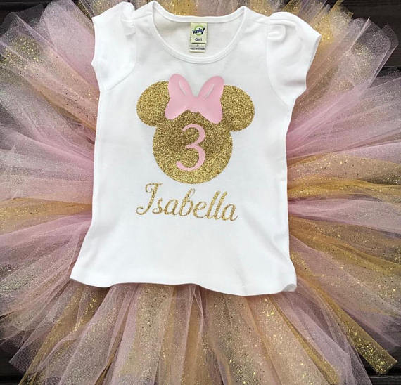 Disney Birthday Shirt Minnie Princess
