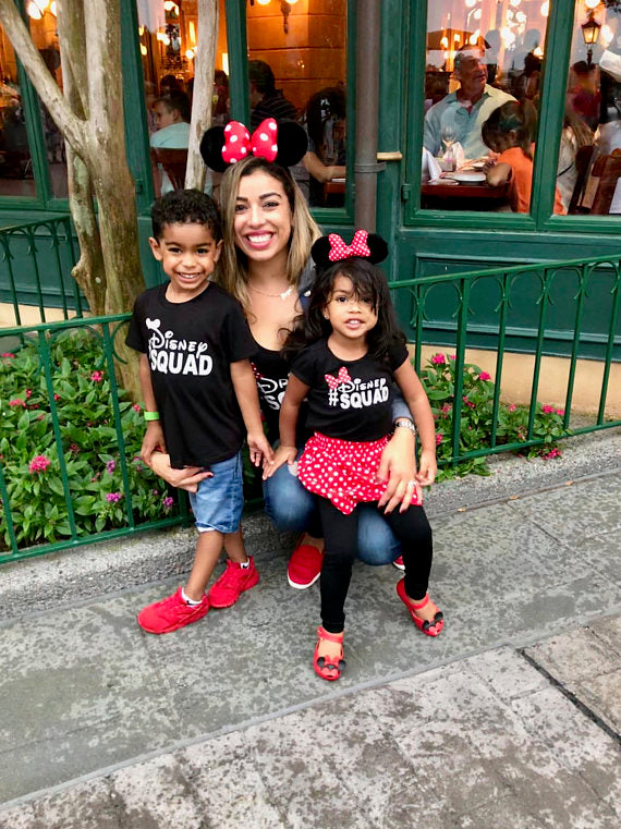 Disney Squad Shirt with Minnie Bow | Disney Group Shirts