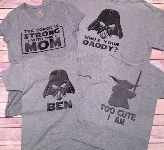 The Force Is Strong With This Mom Star Wars Shirt