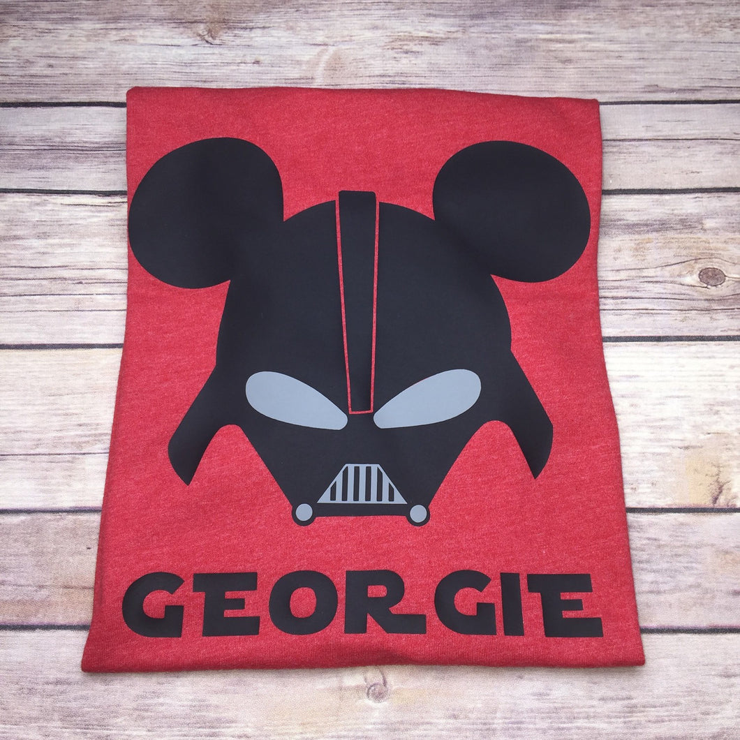 Darth Vader - Character Inspired Minnie/Mickey Head
