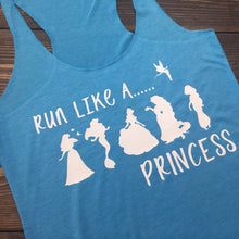Disney Running Shirt | Run Disney | Mermaid Shirt | Mermaid Running Shirt | Racerback Tank Top | Workout Tank | Womens Gym Tank Top