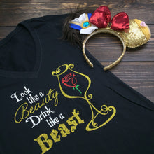 Look Like A Beauty, Drink Like A Beast Princess Disney Epcot Food and Wine Top