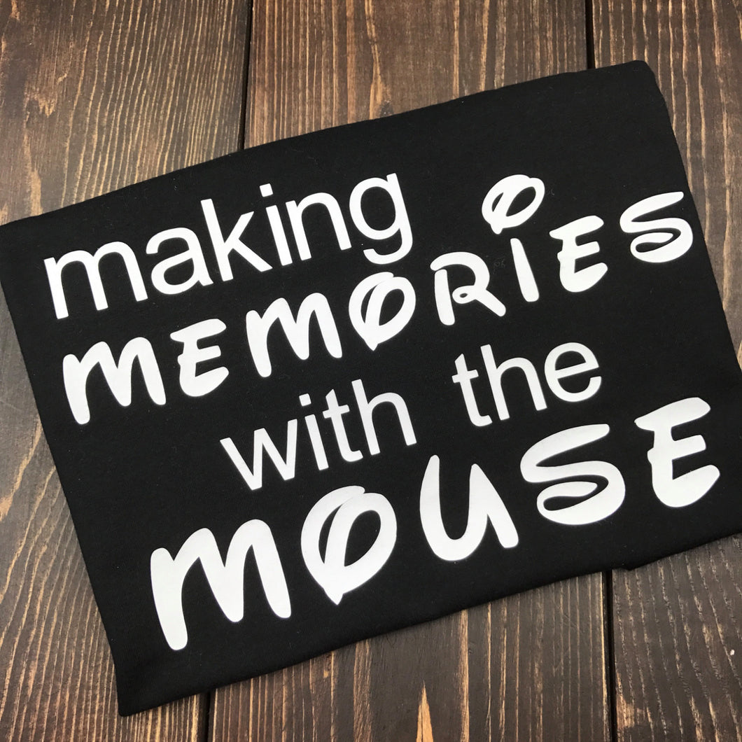 Memories Memories With The Mouse Shirt