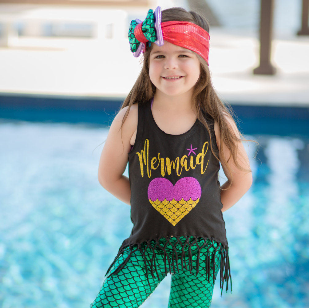 Mermaid Birthday Shirt | Mom Mermaid | Under The Sea Party Shirt |  Mermaid Shirt | Mermaid Party Shirt | Mermaid at Heart | Women Mermaid